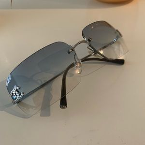Rimless Chanel 4017 d sunglasses
